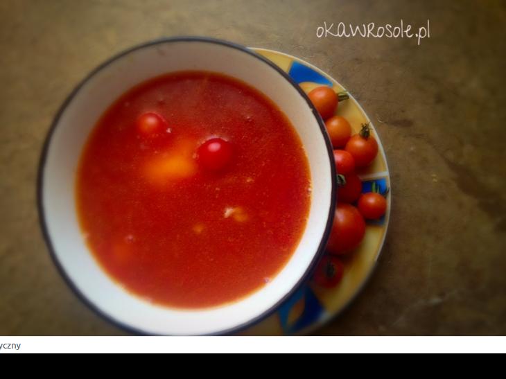 Pomidorowa na żeberkach