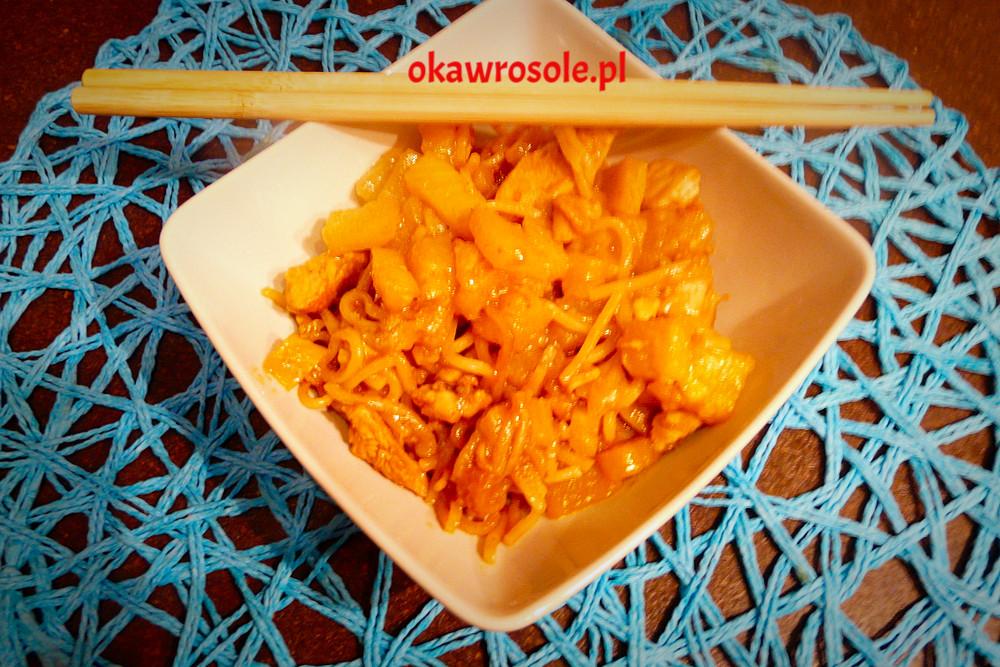 Ananasowo – pomarańczowy kurczak